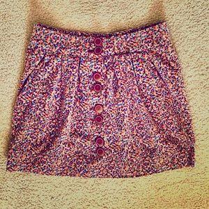 Anthropologie brand Elevenses Mini Skirt